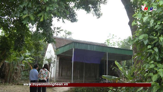 Những ngôi nhà cổ  làng Hoành Sơn- nơi lưu giữ nét đẹp văn hóa làng quê