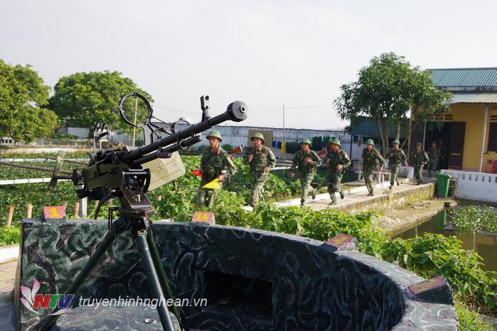 Trung đội súng máy phòng không 12,7mm Tiểu đoàn BB41, Trung đoàn 764 luyện tập phương án sẵn sàng chiến đấu