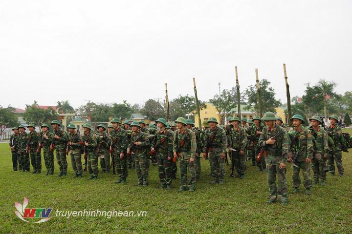 Trung đoàn 764 tổ chức báo động kiểm tra quân số, vật chất, vũ khí trang bị sẵn sàng chiến đấu trong dịp tết nguyên đán Kỷ Hợi 2019