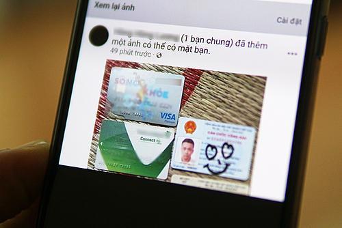 Thông báo của Facebook gửi đến anh Trung.