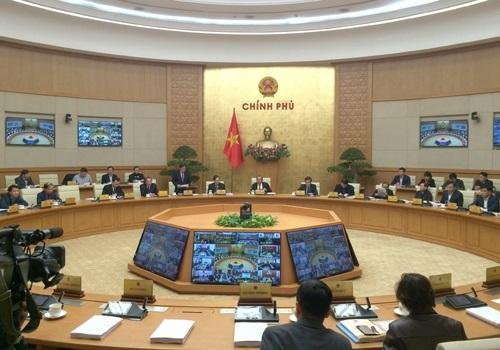 Phó Thủ tướng Thường trực Chính phủ Trương Hòa Bình chủ trì hội nghị - Ảnh: VGP