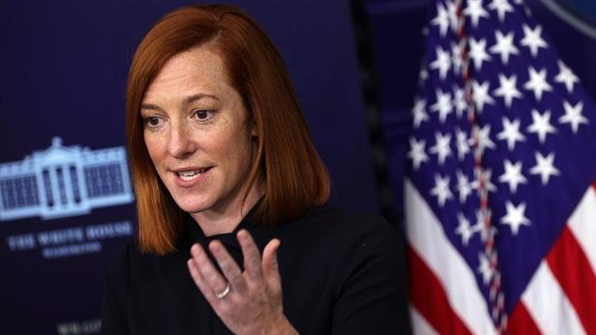 Thư ký báo chí Nhà Trắng Jen Psaki cho biết, tân Tổng thống Joe Biden hiện chưa có kế hoạch công du nước ngoài. (Ảnh: Getty)