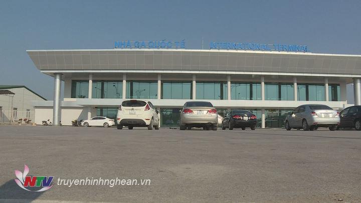 Nhà ga quốc tế sân bay.