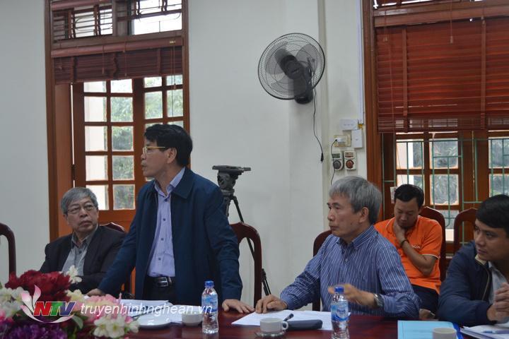 ảnh 5 Phó GĐ sở nông nghiệp nêu các giải pháp thời gian tới để huyện Con Cuông phát triển được SX lâm nghiệp trên địa bàn