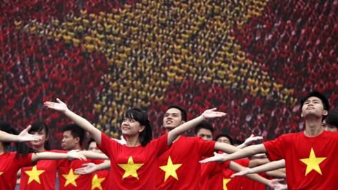 Có ở quốc gia nào mà nhân dân tin tưởng, nghĩa tình với đảng cầm quyền như ở Việt Nam? Ảnh: Lê Anh Dũng.