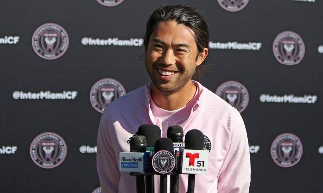 Lee Nguyễn sẽ ở lại Inter Miami trong kế hoạch của ông chủ tịch. Ảnh: IMFC
