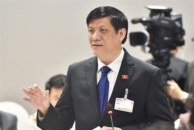 Bộ trưởng Bộ Y tế Nguyễn Thanh Long. (Ảnh: VGP)