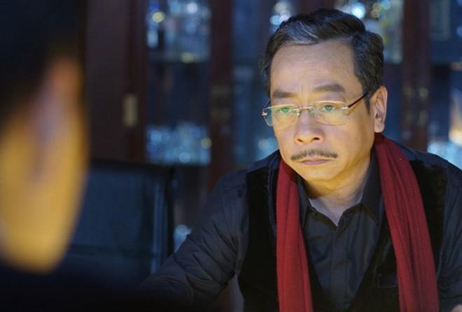 NSND Hoàng Dũng trong vai ông trùm Phan Quân của Người phán xử.