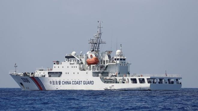 Tàu hải cảnh Trung Quốc. (Ảnh: Reuters)