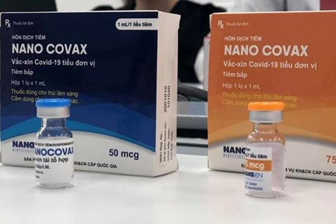 Vaccine Nanocovax của Công ty cổ phần Công nghệ sinh học Dược Nanogen.