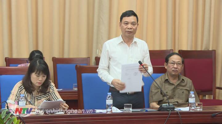 Đại diện các doanh nghiệp nêu kiến nghị tại cuộc họp.