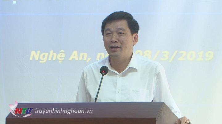 Đồng chí Kha Văn Tám - Phó ban Tuyên giáo Tỉnh uỷ