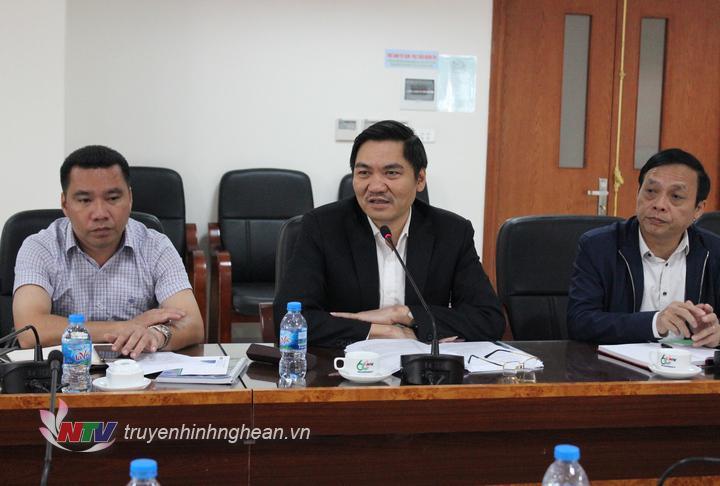 Ông Hoàng Nghĩa Hiếu - Giám đốc Sở NN&PTNT phát biểu tại hội nghị.