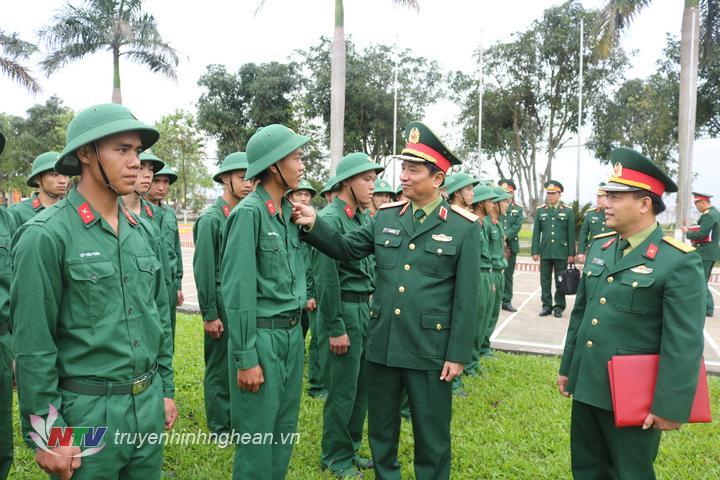 Bộ Tư Lệnh Quan Khu 4 Kiểm Tra Trung đoan 764 Bộ Chqs Tỉnh Nghệ An đai Phat Thanh Va Truyền Hinh Nghệ An