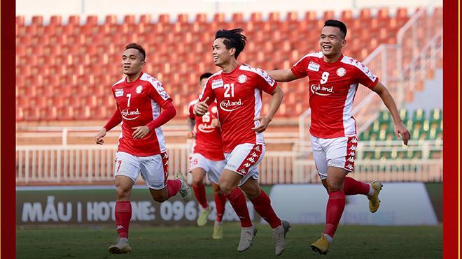 Công Phượng và đồng đội TPHCM đã có 3 điểm đầu tay ở V-League 2020. Ảnh: TPHCM