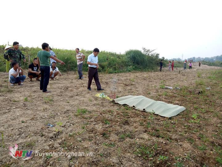 Thi thể của cháu Mai đã được tìm thấy, cách vị trí các cháu tiếp nước khoảng 100m.