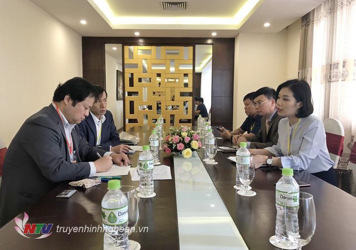 Các công ty lữ hành Nghệ An gặp gỡ đối tác Nhật Bản.