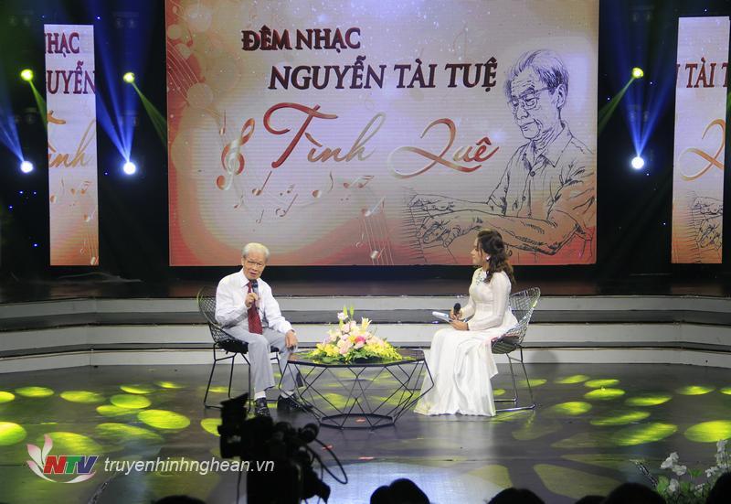 Nhạc sỹ Nguyễn Tài Tuệ chia sẻ về cảm hứng trong sáng tác âm nhạc của mình.