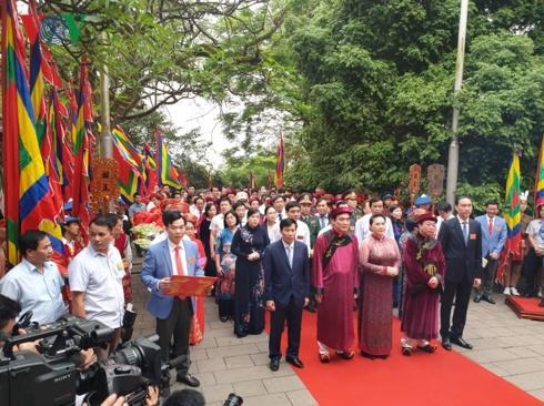 Lễ hội đền Hùng 2019 do tỉnh Phú Thọ chủ trì, diễn ra từ 12 đến 14/4 (8 đến 10/3 âm lịch). Ba địa phương cùng tham gia là Cần Thơ, Nghệ An, Sơn La.