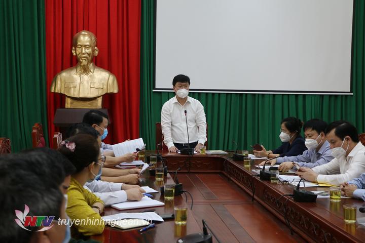 Chủ tịch UBND tỉnh làm việc tại huyện Đô Lương.