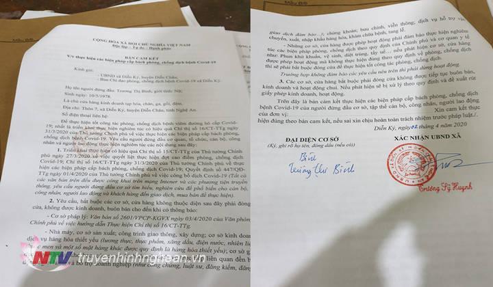 Mặc dù trước đó mà Phạm Thị Bình đã thực hiện ký cam kết thực hiện nghiêm các biện pháp cấp bách phòng chống dịch Covid – 19 theo Chỉ thị 16 của Thủ tướng Chính phủ nhưng bà vẫn cố tình vi phạm.