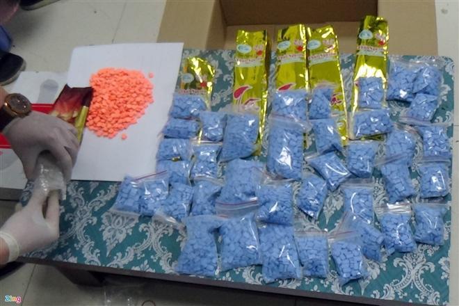 Hơn 6 kg ma túy được giấu trong bệnh viện tâm thần.