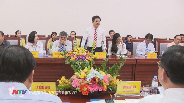 Ông Nguyễn Quốc Kỳ - Chủ tịch HĐQT, Tổng Giám đốc Vietravel khẳng định sẽ giúp Nghệ An xây dựng và phát triển