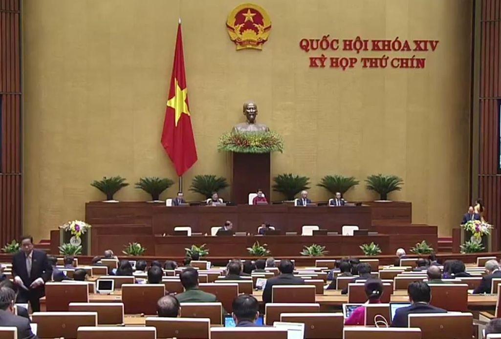 Khai mạc Kỳ họp thứ 9, Quốc hội khóa XIV. Ảnh VGP