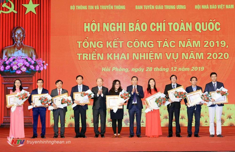 Đảng bộ 4 năm liên tục được xếp loại hoàn thành xuất sắc nhiệm vụ; có 2 tập thể và 4 cá nhân được Thủ tướng Chính phủ tặng Bằng khen. Nhiều năm liền NTV được tặng cờ thi đua xuất sắc của Bộ TTTT và Ban Tuyên giáo Trung ương.