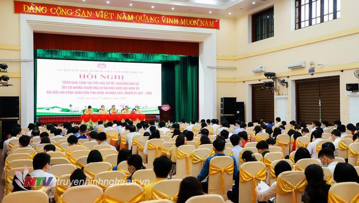 hướng dẫn tổ chức Hội nghị tiếp xúc cử tri, vận động bầu cử