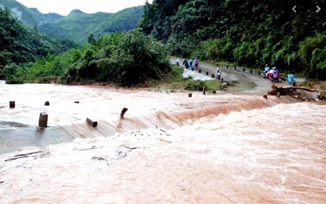 Các tỉnh Bắc Bộ mưa lớn, nguy cơ lũ quét, sạt lở đất nhiều nơi.