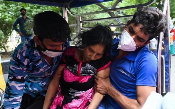 Ấn Độ đang thiếu trầm trọng thuốc điều trị nấm đen. Ảnh: AFP.