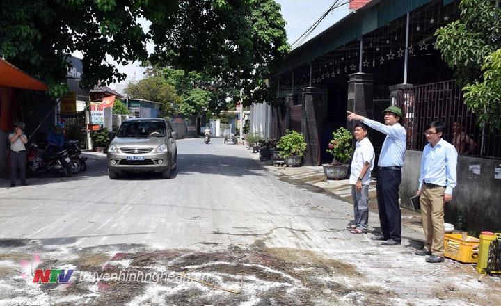 Chốt kiểm dịch trên địa bàn xã Diễn Hạnh, Diễn Châu chưa đảm bảo yêu cầu.