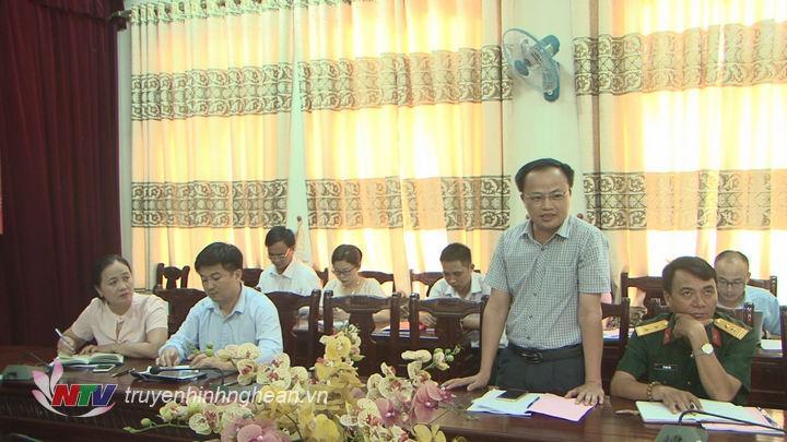 Đại diện một số cơ quan báo chí phát biểu tại buổi gặp mặt.