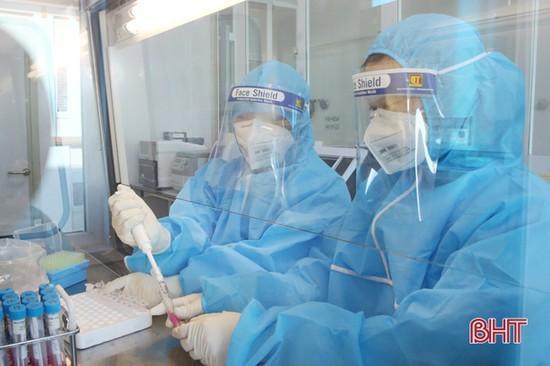 Xét nghiệm Covid-19 tại CDC Hà Tĩnh