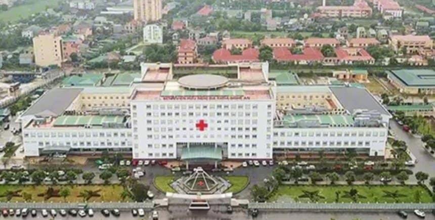 Một ca dương tính với SARS-CoV-2 được phát hiện trong Bệnh viện Hữu nghị Đa khoa Nghệ An.