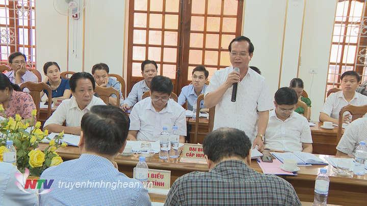 Chủ tịch UBND huyện Nguyễn Văn Quế làm rõ thêm
