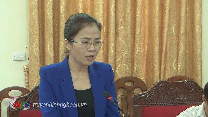 Lãnh đạo Ủy ban MTTQ tỉnh phát biểu tại hội nghị.
