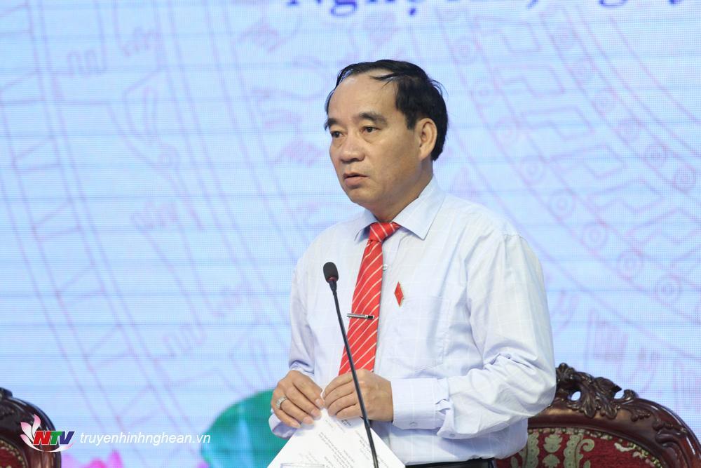 Phó Chủ tịch HĐNDHoàng Viết Đường giải trình dự thảo Nghị quyết kết quả giám sát công tác thu ngân sách nhà nước trên địa bàn tỉnh Nghệ An giai đoạn 2016-2018