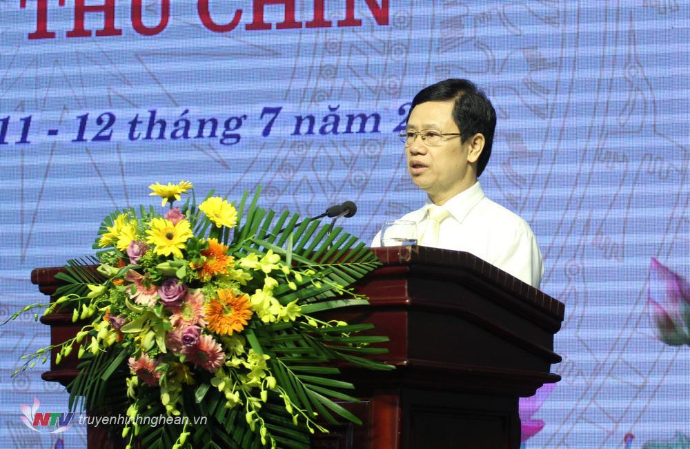 Chủ tịch HĐND tỉnh Nguyễn Xuân Sơn bế mạc kỳ họp.