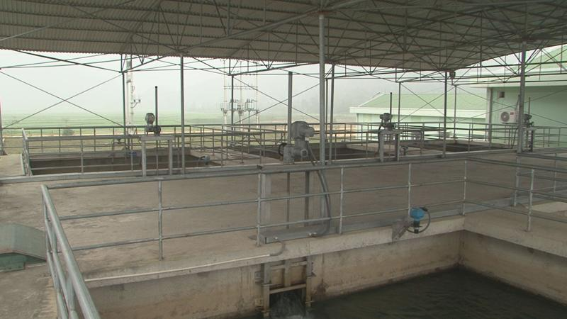 Trạm bơm nước thô từ sông Lam.