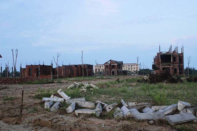 Nhiều dự án dở dang ở thị xã Cửa Lò bị thu hồi.