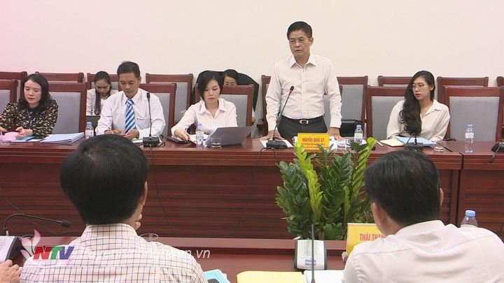 Ông Nguyễn Quốc Kỳ - Chủ tịch HĐQT Công ty cổ phần du lịch và tiếp thị GTVT Việt Nam - Viettravel phát biểu tại buổi làm việc.