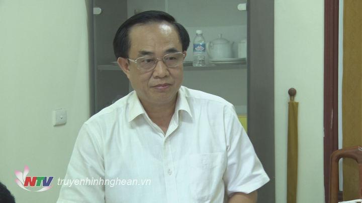 Đại diện lãnh đạo sở LĐ-TBXH phát biểu tại buổi làm việc.