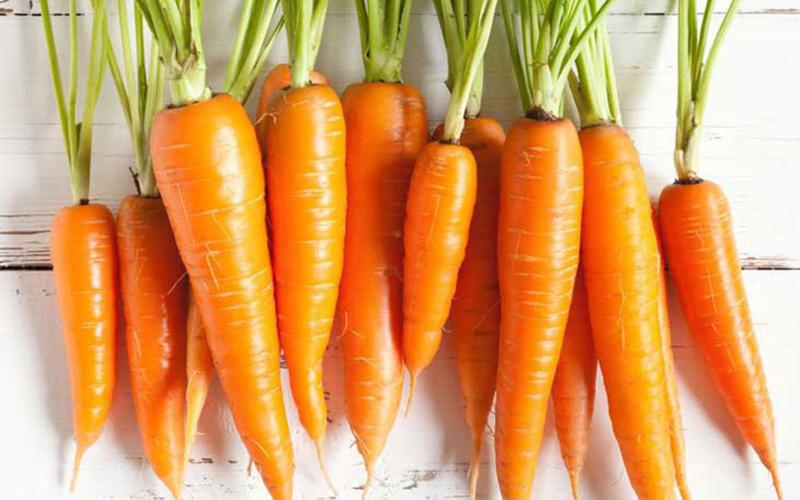 Cải thiện tầm nhìn: Cà rốt rất giàu beta-caroten, tiền chất giúp chuyển hóa thành vitamin A, bảo vệ sức khỏe của đôi mắt, ngăn ngừa thoái hóa điểm vàng và đục thủy tinh thể do tuổi già.
