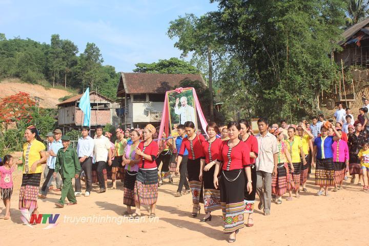 Bản Bủng, Châu Khê đón nhận danh hiệu khu dân cư văn hóa. (Tư liệu)