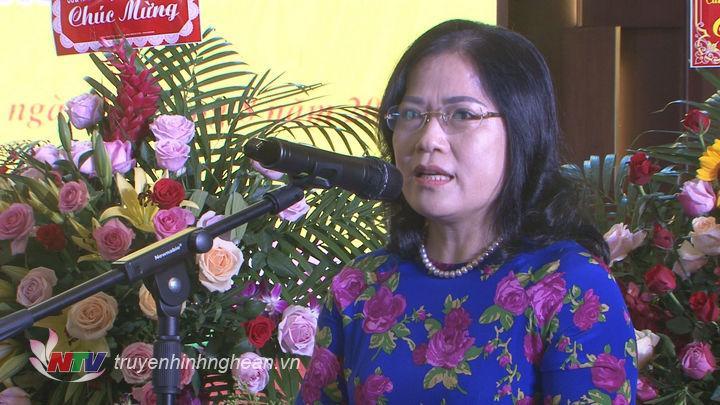 Lãnh đạo Thị xã Cửa Lò phát biểu tại buổi lễ.