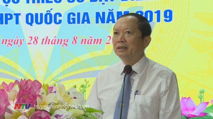 Lãnh đạo Ban Dân tộc tỉnh phát biểu tại buổi lễ.