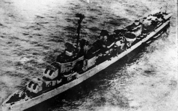 Tàu khu trục Maddox của Mỹ được điều tới xâm phạm hải phận Việt Nam đầu tháng 8/1964..