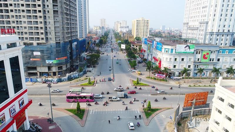 Một góc thành phố Vinh. (Anhr Internet)